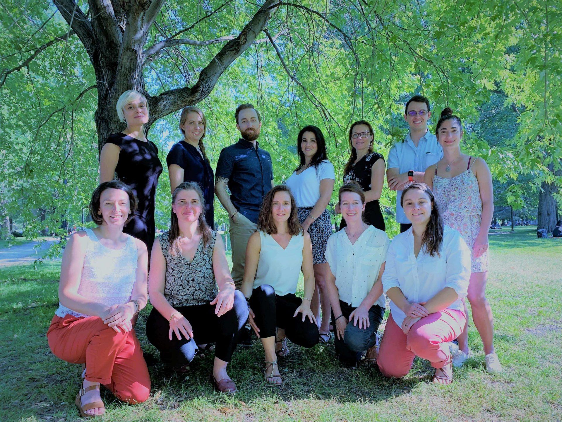 équipe de neuropsychologie et de psychologie de Montréal